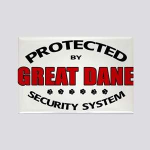 Great Dane Security Rectangle Magnet